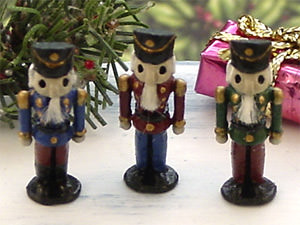 dollhouse Nutcrackers
