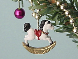 dollhouse Christmas ornaments