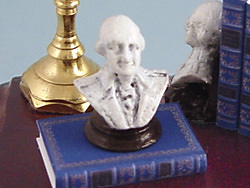 dollhouse George Washington bust