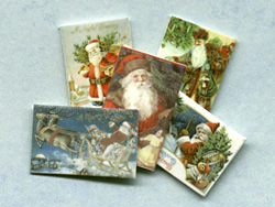 dollhouse Christmas cards