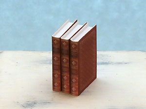 miniature books by the Brontë Sisters