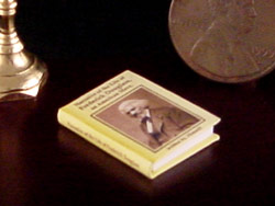 miniature African American history book