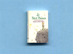 miniature French book