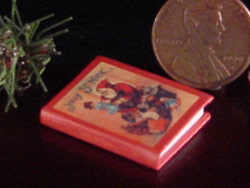 miniature Santa book