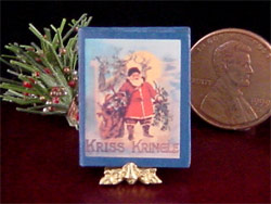 miniature Christmas book