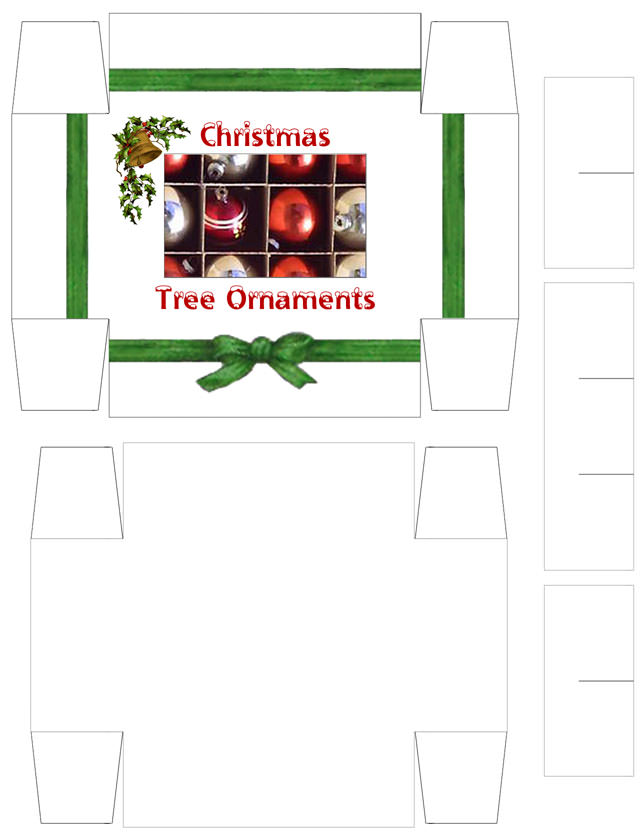 Christmas Ornament Boxes